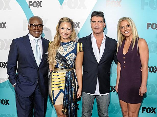 The X Factor Judges 2012