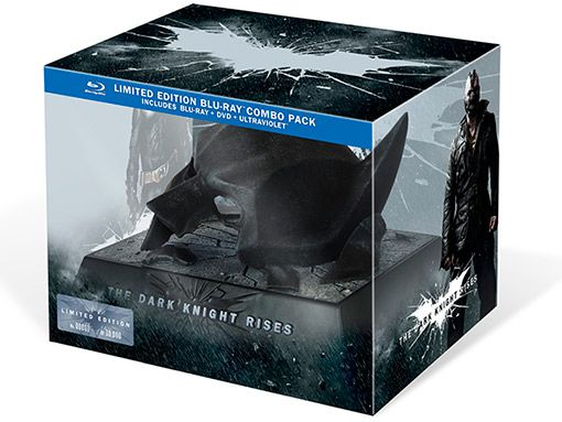 The Dark Knight Rises Limited Edition Bluray