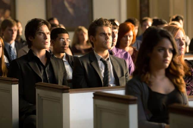 THE VAMPIRE DIARIES Season 4 Episode 2 Memorial Promo
