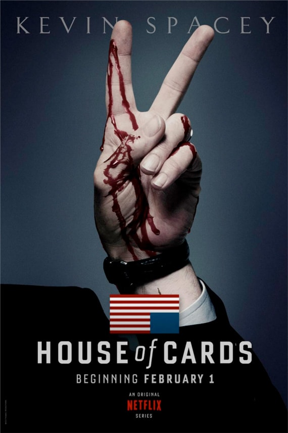 House Of Cards Poster Netflix