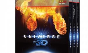 THE UNIVERSE 3D BLURAY SET