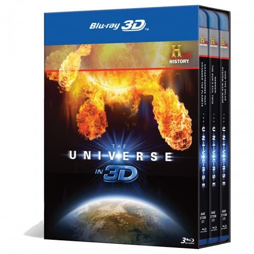 THE UNIVERSE 3D BLURAY SET