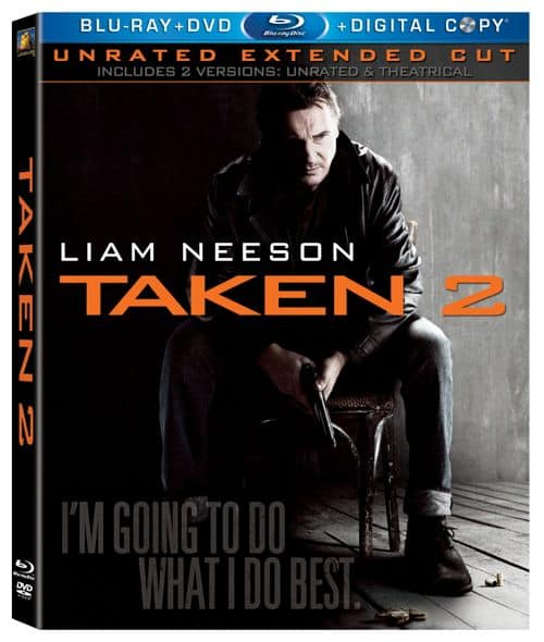Taken 2 Bluray