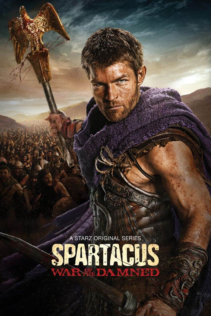 SPARTACUS WAR OF THE DAMNED Poster