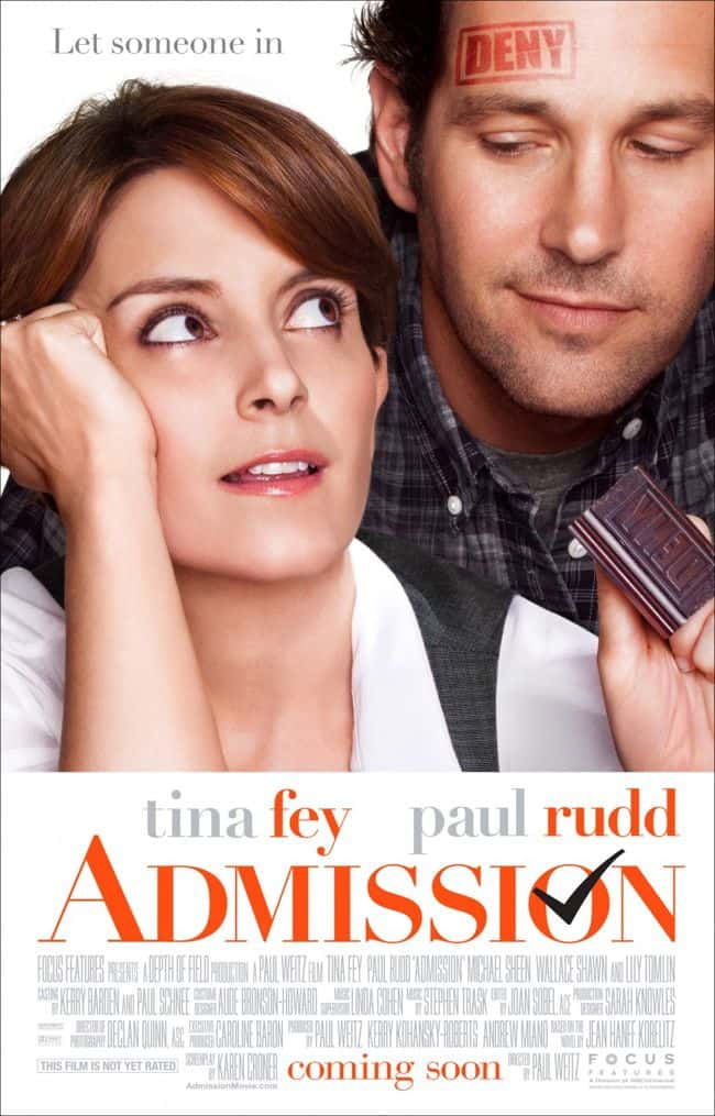 Admission Movie Poster
