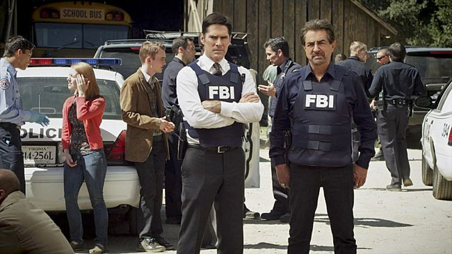 CRIMINAL MINDS Season 8 Episode 8 The Wheels On The Bus