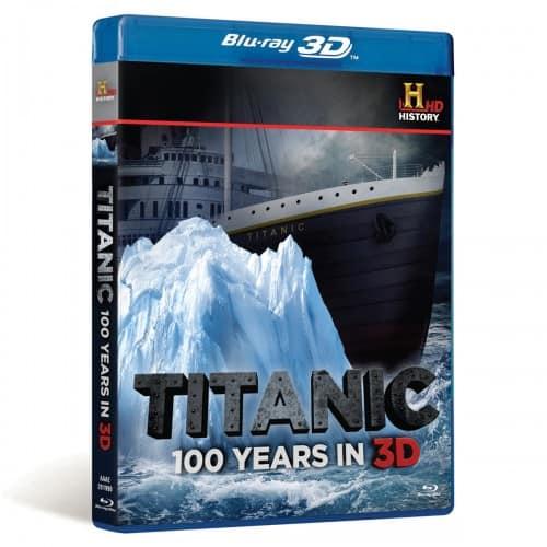 TITANIC 100 YEARS IN 3D BLURAY