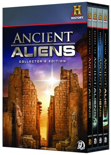 ANCIENT ALIENS COLLECTOR'S EDITION DVD