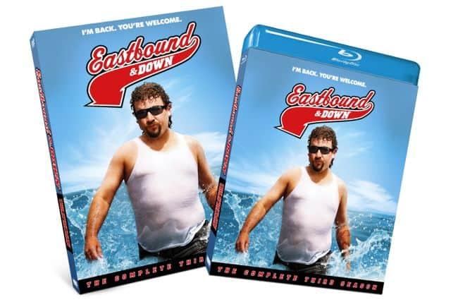 Eastbound And Down Season 3 Bluray DVD