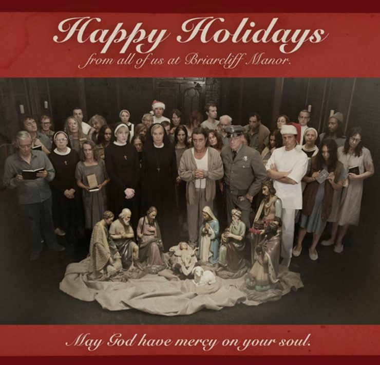 American Horror Story Asylum Happy Holidays