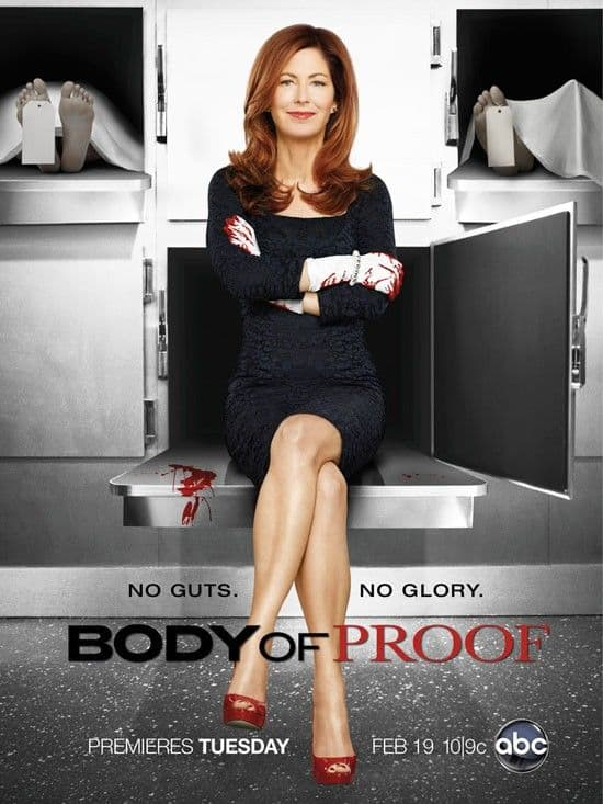 Body Of Proof Poster ABC Season 3