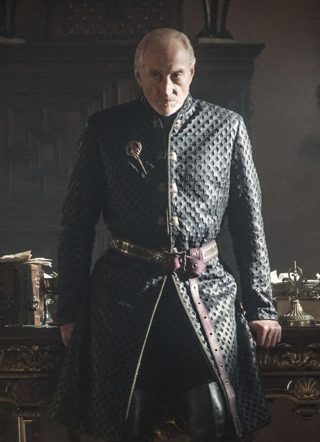 Charles Dance as Tywin Lannister Game Of Thrones Season 3 Cast