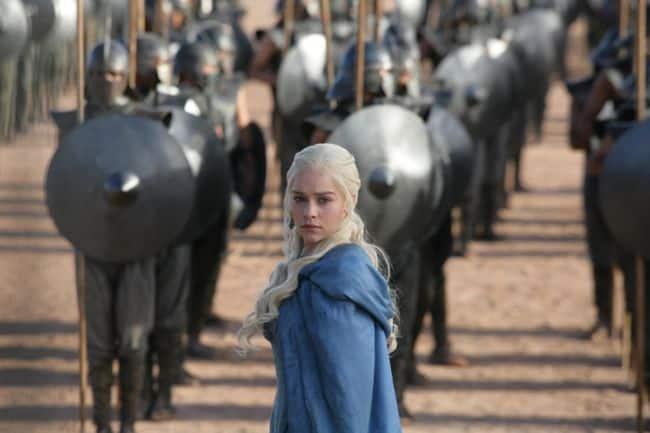 Emilia Clarke as Daenerys Targaryen Game Of Thrones Season 3 Cast