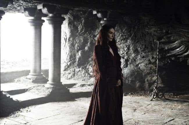 Carice van Houten as Melisandre Game Of Thrones Season 3 Cast