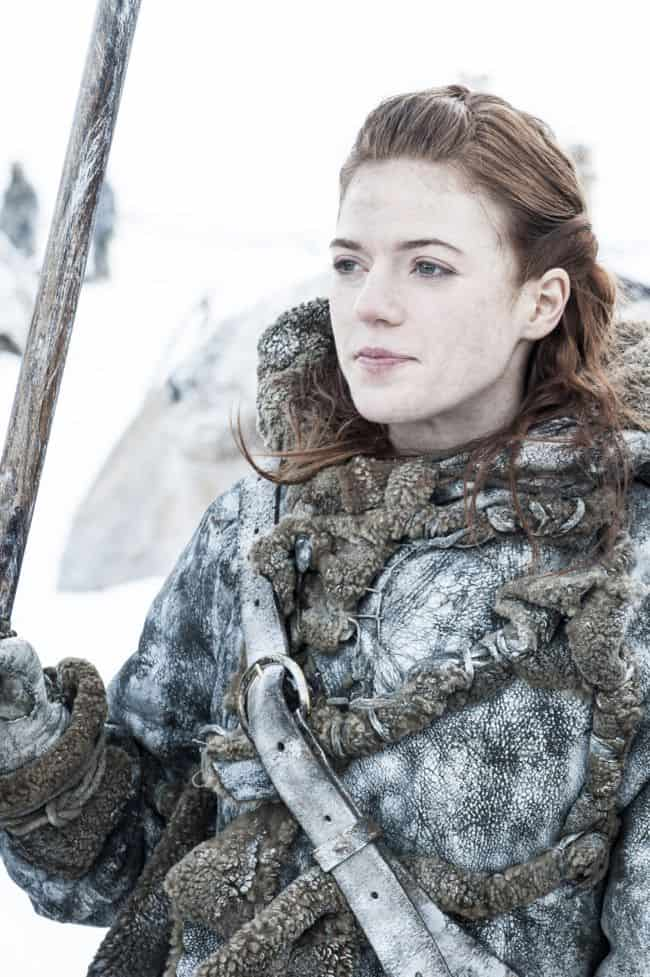 Rose Leslie as Ygritte Game Of Thrones Season 3 Cast