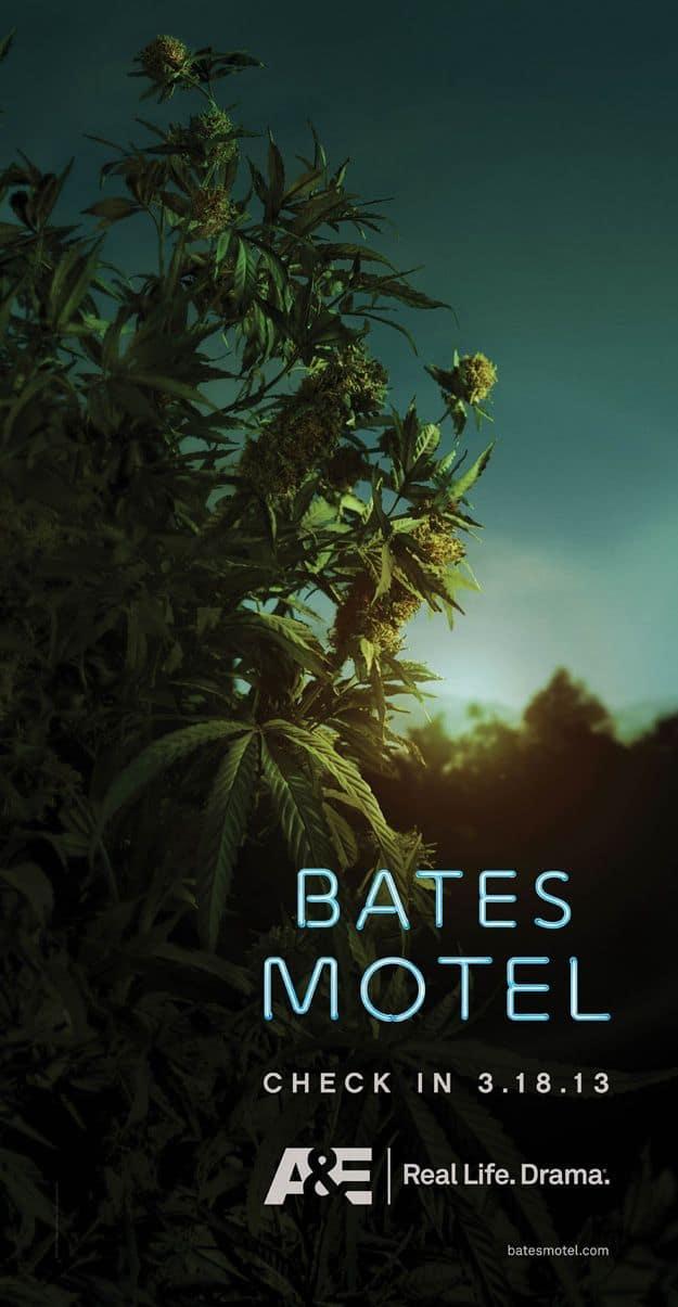 Bates Motel A+E Poster