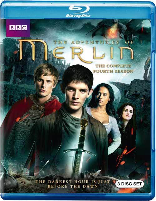 Merlin Season 4 Bluray