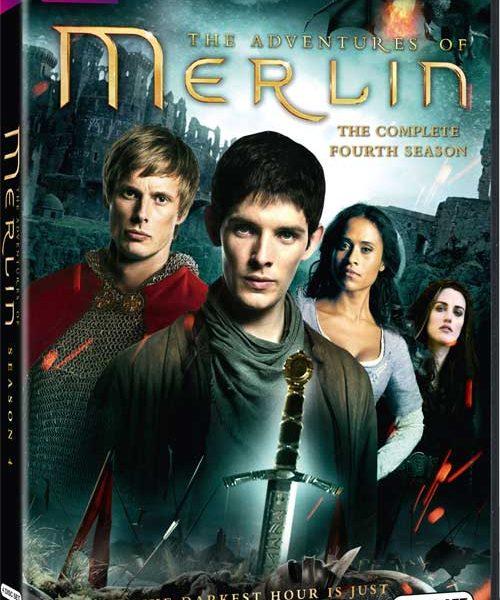 Merlin Season 4 DVD