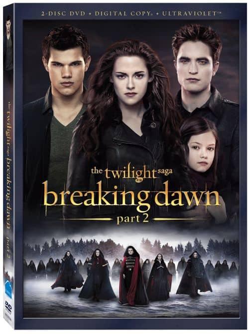 THE TWILIGHT SAGA BREAKING DAWN PART 2 DVD
