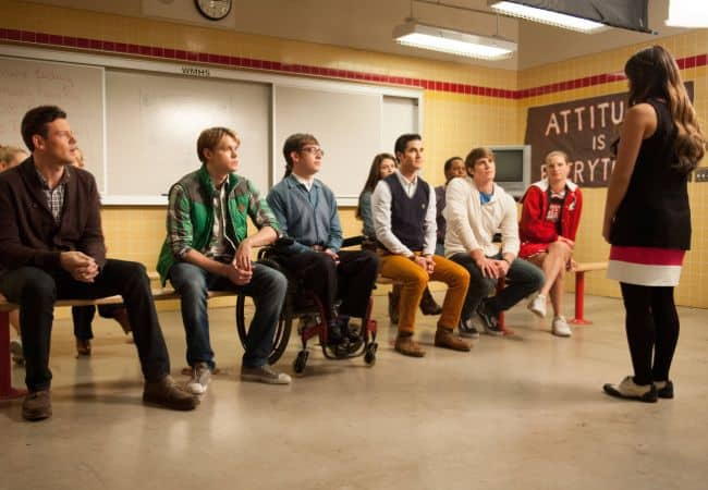 GLEE Season 4 Episode 11 Sadie Hawkins