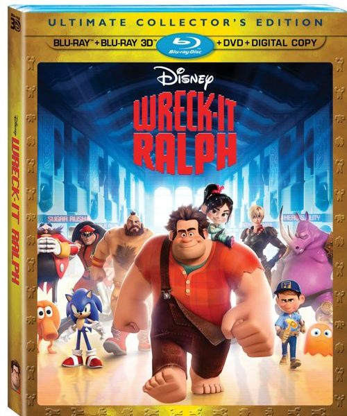 Wreck It Ralph Bluray DVD
