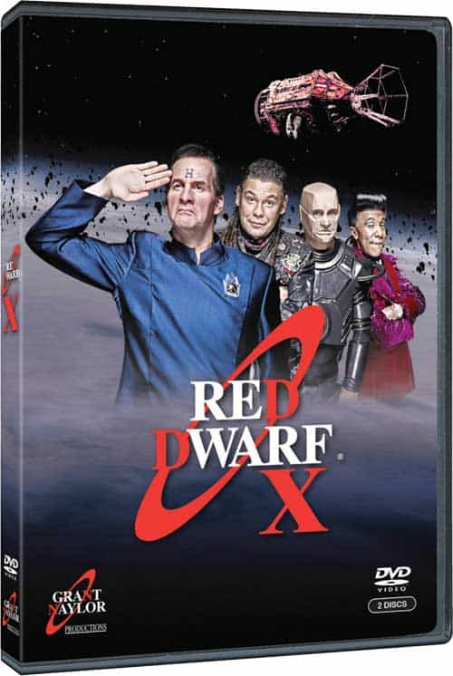 Red Dwarf X DVD
