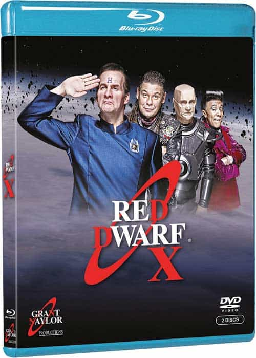 Red Dwarf X Bluray