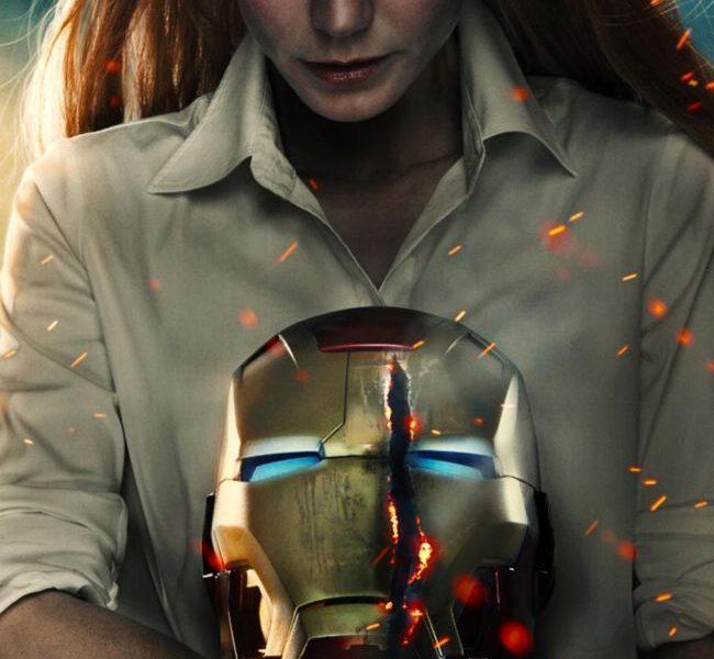 Gwyneth Paltrow IRON MAN 3 Poster
