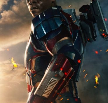 Don Cheadle IRON MAN 3 Poster