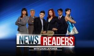 Newsreaders Cast Photo