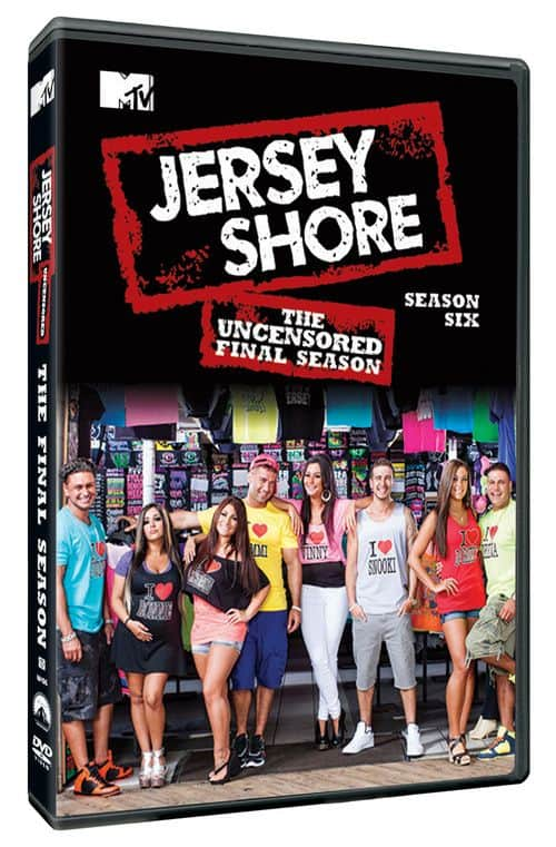 JERSEY SHORE The Uncensored Final Season DVD