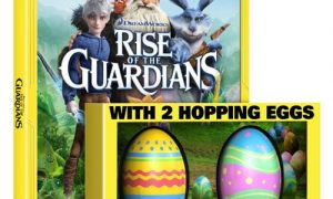 Rise of the Guardians Bluray DVD