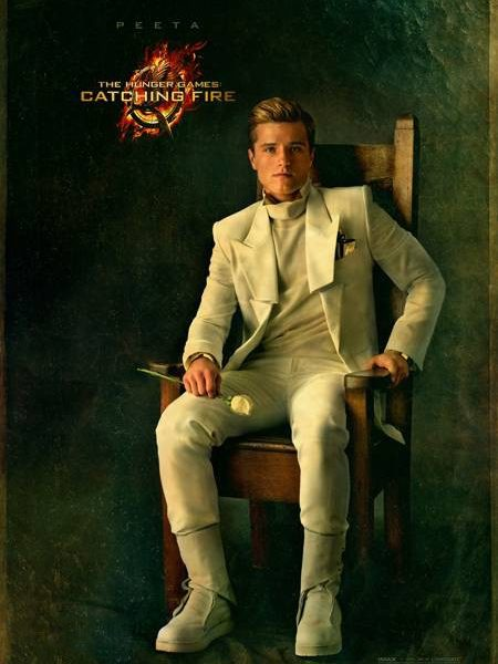 THE HUNGER GAMES CATCHING FIRE Peeta Character Poster