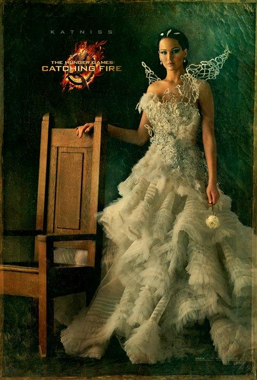 THE HUNGER GAME CATCHING FIRE Katniss Character Poster