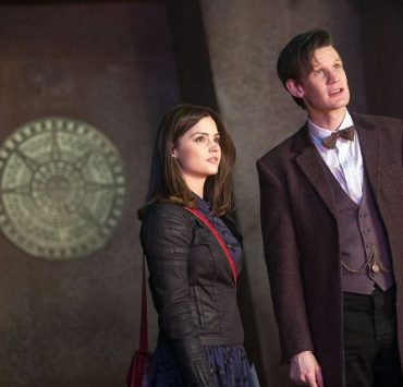 The Doctor (Matt Smith) is joined by his new companion Clara (Jenna-Louise Coleman)