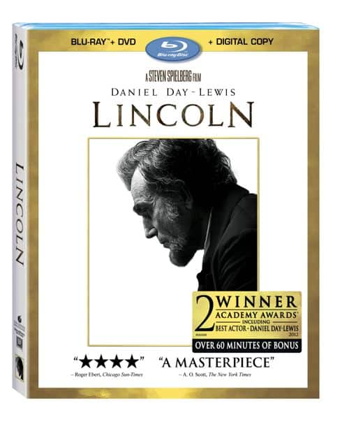Lincoln Bluray DVD Combo Pack