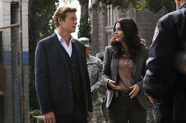 Simon Baker (Patrick Jane), Robin Tunney (Teresa Lisbon)