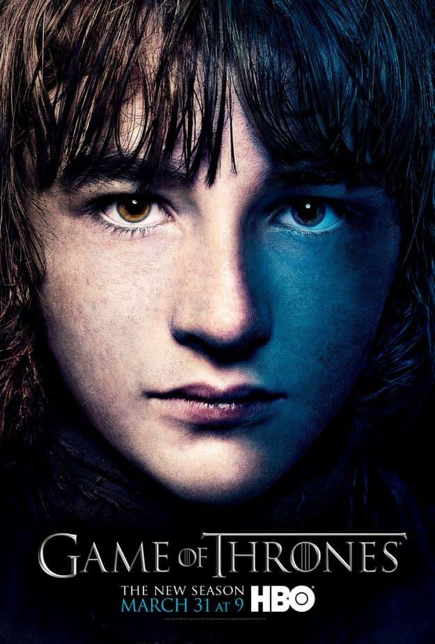 Bran Stark Game Of Thrones Season 3 Poster