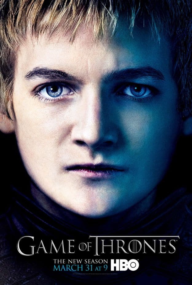 Joffrey Baratheon Game Of Thrones Season 3 Poster