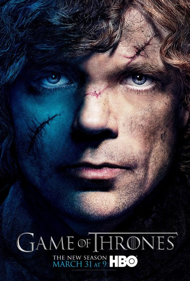 Tyrion Lannister Game Of Thrones Season 3 Poster