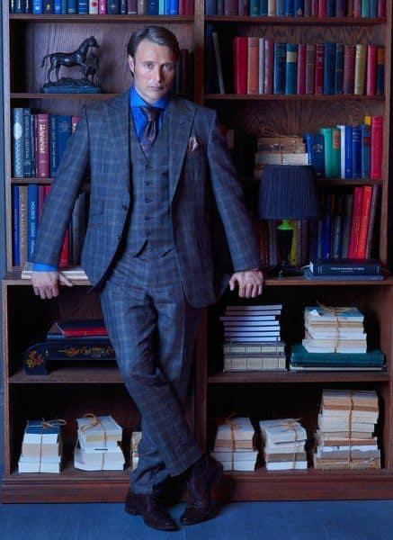 Mads Mikkelsen as Dr. Hannibal Lecter Hannibal - Season 1