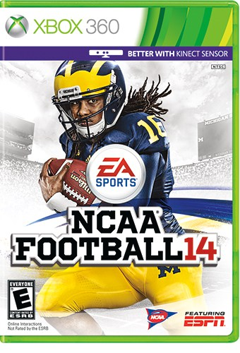 Denard Robinson NCAA FOOTBALL 14 Cover XBOX (2)