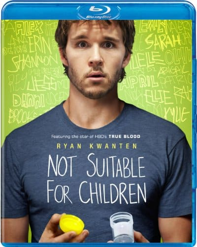 NOT SUITABLE FOR CHILDREN Bluray