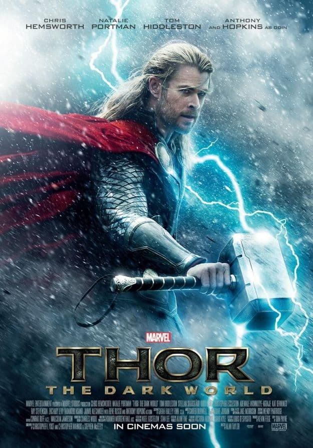 Thor The Dark World Poster Movie