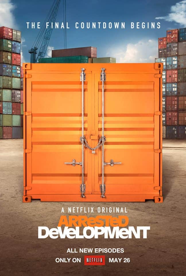 Arrested Development Poster Netflix