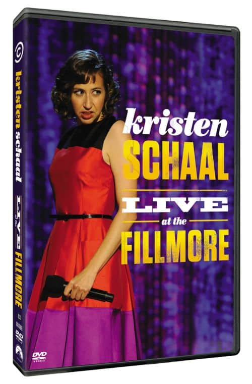 KRISTEN SCHAAL LIVE AT THE FILLMORE DVD