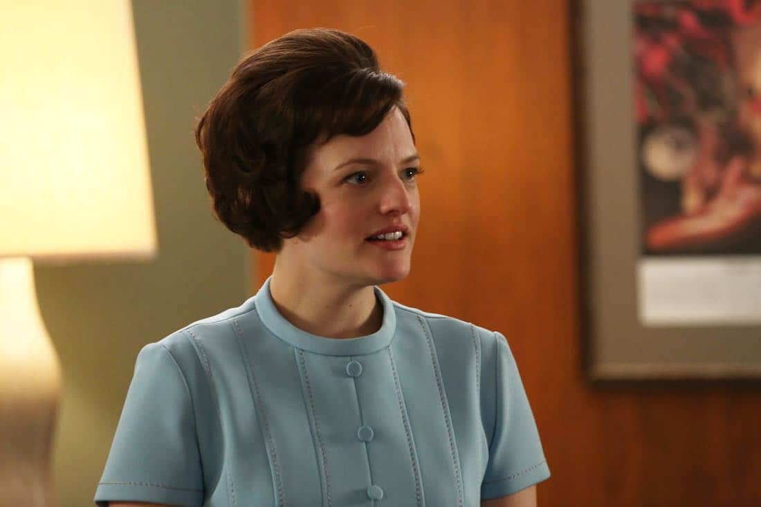 "Peggy Olson (Elisabeth Moss) - Mad Men_Season 6, Episode 6_""For Immediate Release"" - Photo Credit: Michael Yarish/AMC"