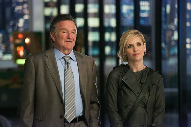 The Crazy Ones CBS Robin Williams Sarah Michelle Gellar