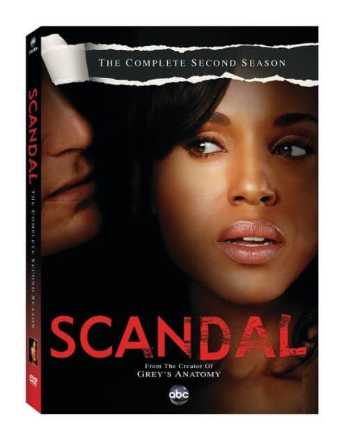 Scandal Season 2 DVD