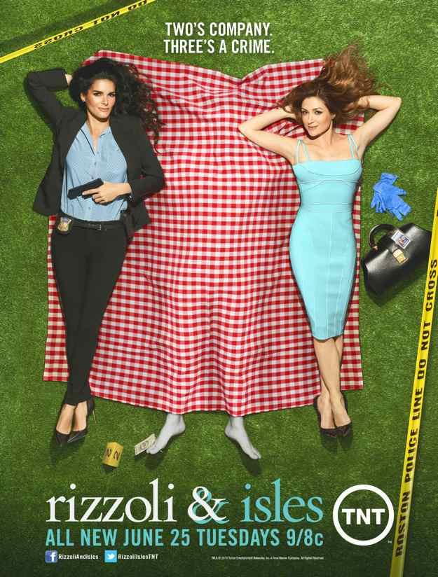 RIZZOLI & ISLES Season 4 Poster
